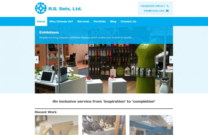 New website for Hampshire business Rssets