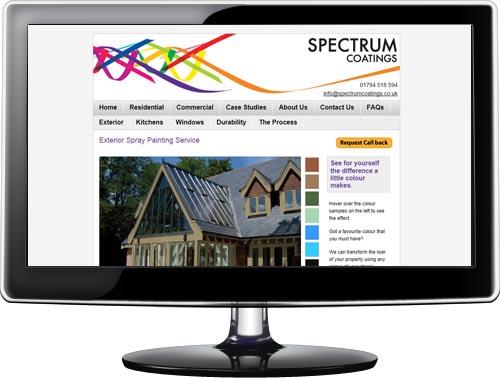 Website development for Southampton business